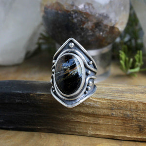Warrior Ring // Pietersite- Size 9 - Acid Queen Jewelry