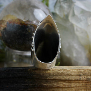 Amplifier Ring // Tigers Eye - Size 7.5 - acid-queen-jewelry, [product_type] - acid-queen-jewelry, Acid Queen Jewelry - acid-queen-jewelry,  Acid Queen Jewelry - acid-queen-jewelry