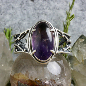 Warrior Laced Cuff // Ametrine - Small - Acid Queen Jewelry