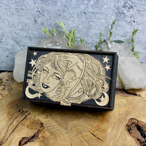 Celestial Witch Tarot Card Box - acid-queen-jewelry, [product_type] - acid-queen-jewelry, Acid Queen Jewelry - acid-queen-jewelry,  Acid Queen Jewelry - acid-queen-jewelry