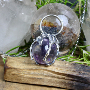 Sorceress Necklace // Amethyst - acid-queen-jewelry, All Products - acid-queen-jewelry, vendor-unknown - acid-queen-jewelry,  Acid Queen Jewelry - acid-queen-jewelry