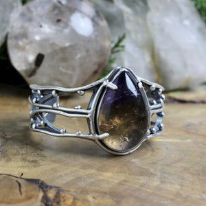 Warrior Laced Cuff // Ametrine - Acid Queen Jewelry