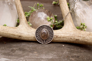 Voyager Pendant // Rutilated Quartz - Acid Queen Jewelry