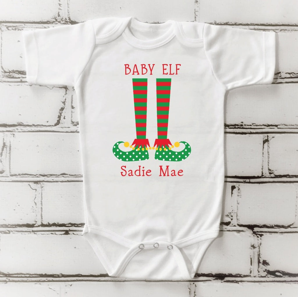 os08 Baby Girl Elf Onsie