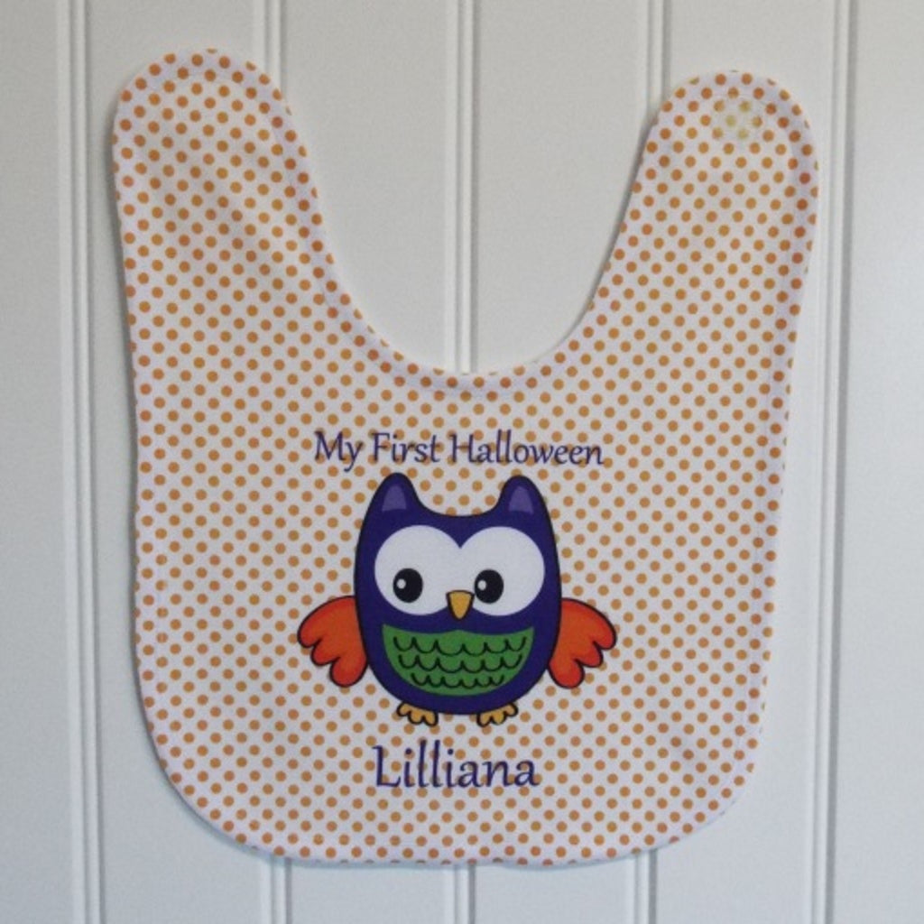 bb34 Halloween Dot Bib