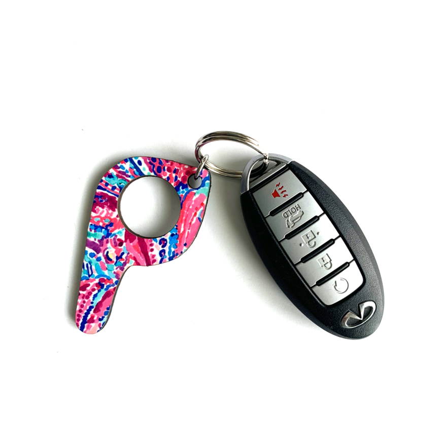 bp16 Bermuda Button Pusher Key Chain