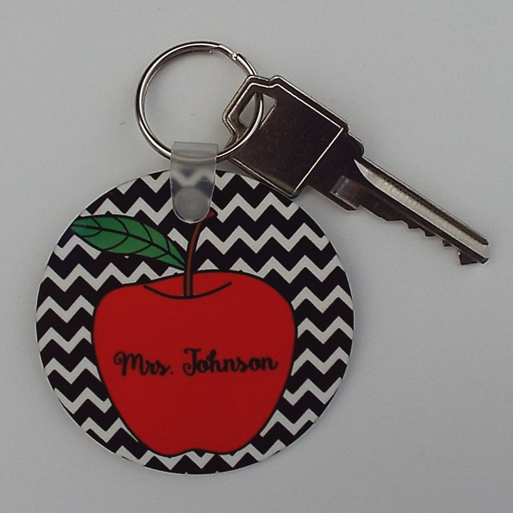 kyc2 Chevron Apple Keychain