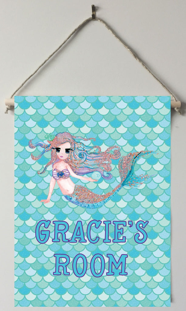 dk03 Mermaid Door/Wall Sign