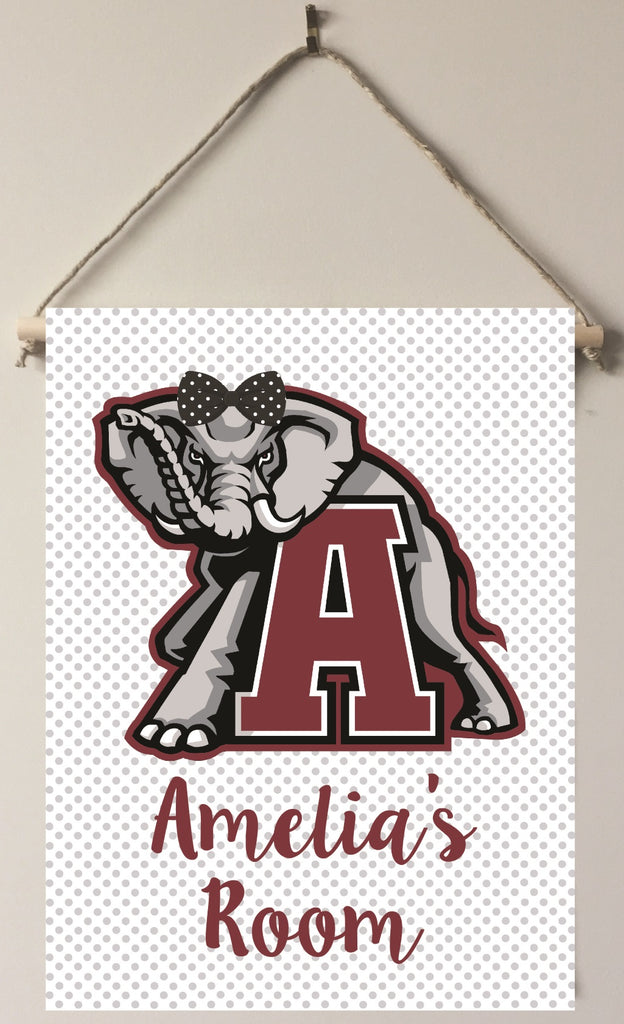 dk07 Alabama Girl Door/Wall Sign *officially licensed*