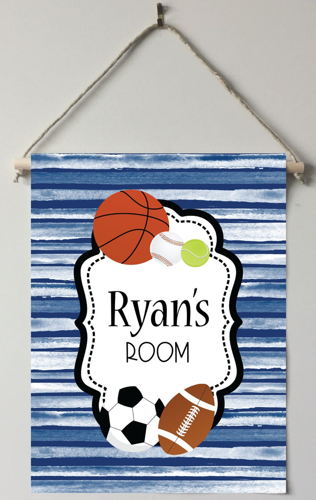 dk31 Sports Door/Room Sign