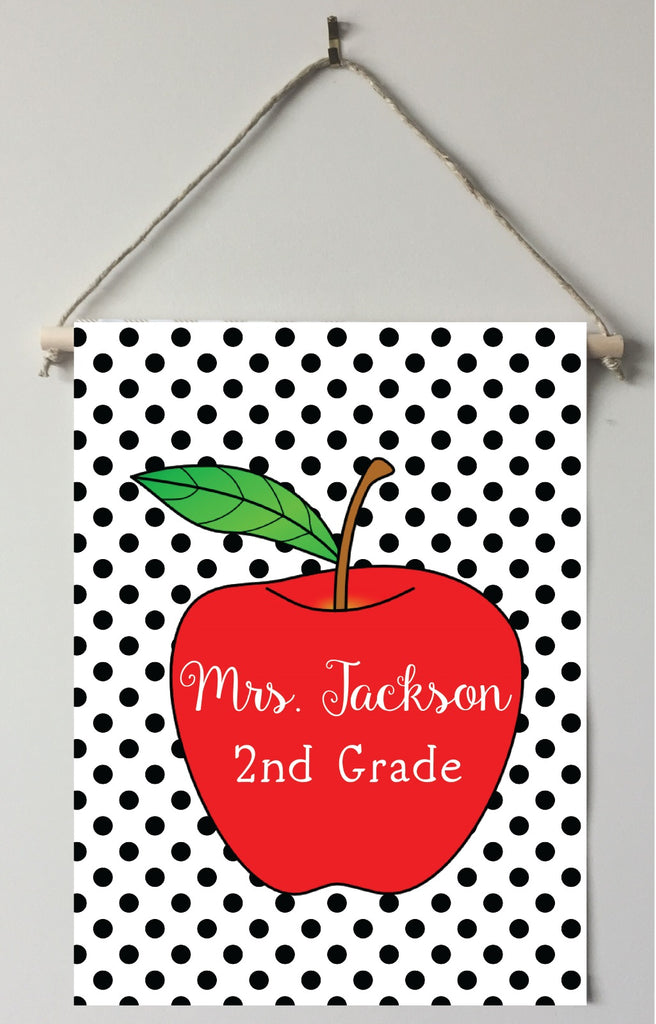 dt01 Dot Teacher Door/Room Sign