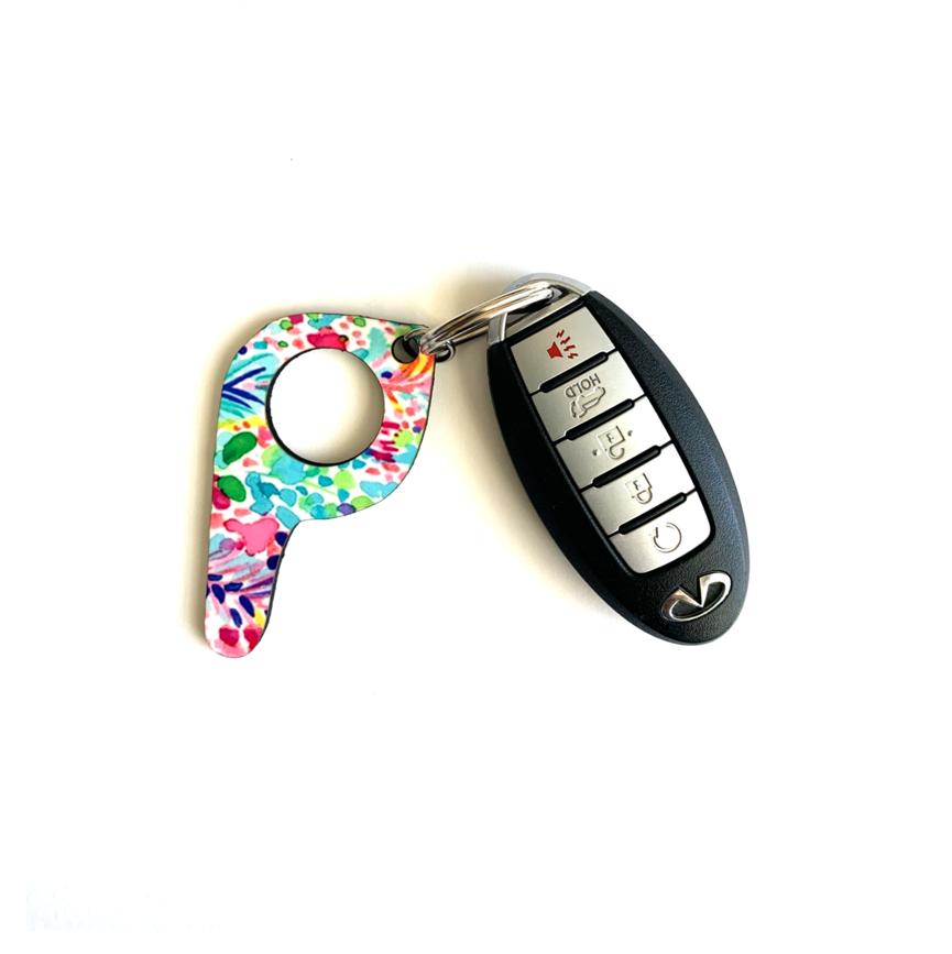 bp03 Island Button Pusher Key Chain
