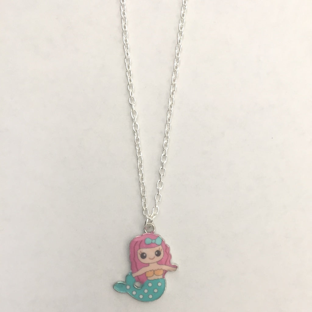 gcn03 Mermaid Charm Necklace