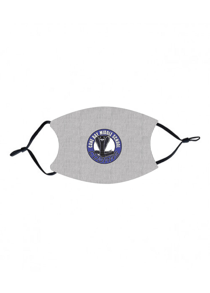mk36 Cane Bay Middle gray Kids Face Mask