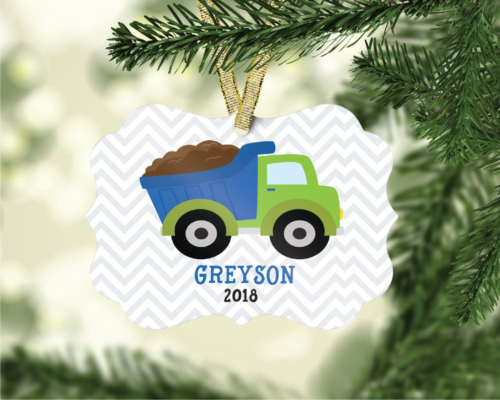 or02 Dump Truck Ornament