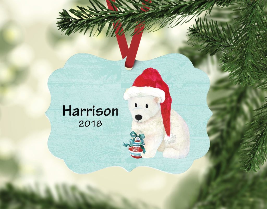 or05 Polar Bear Ornament