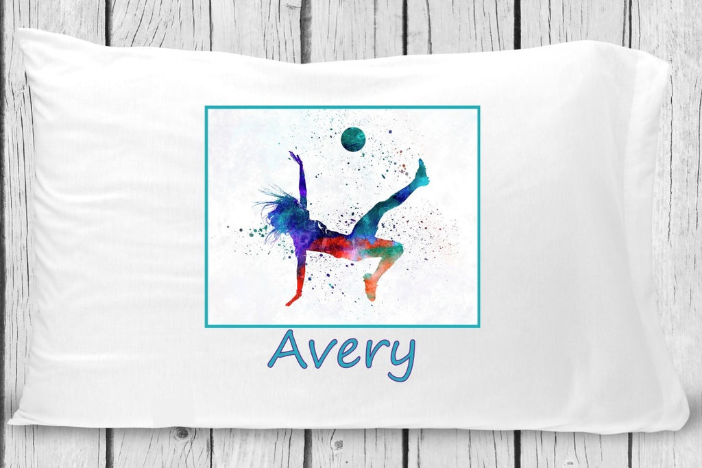 pc103 Girl Soccer Pillowcase