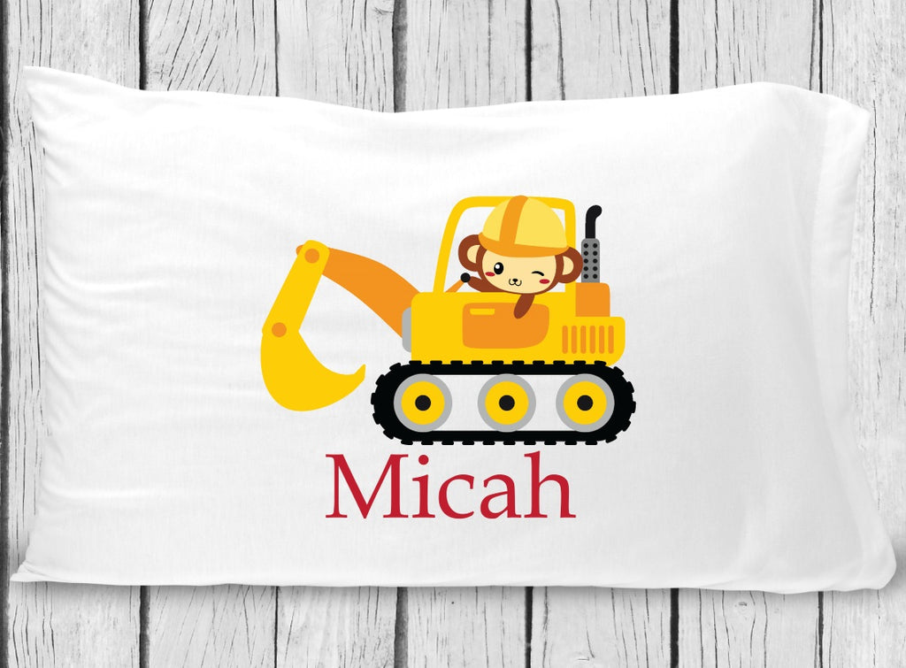 pc111 Monkey Excavator Pillowcase