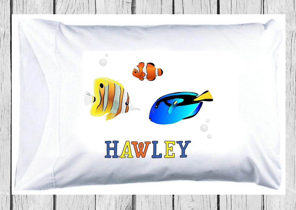 pc115 Tropical Fish Pillowcase