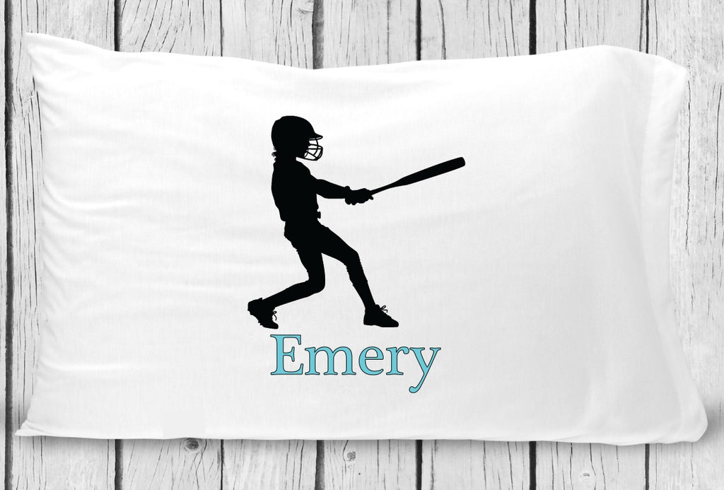 pc119 Girl Softball Pillowcase