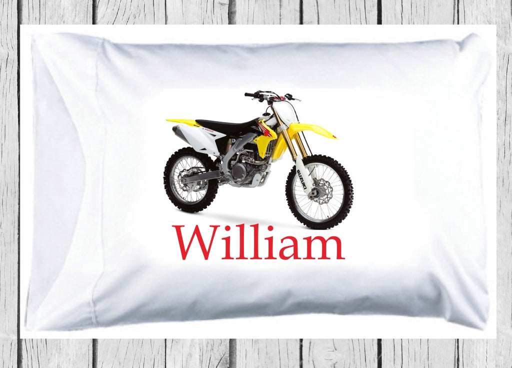 pc122 Dirt Bike Pillowcase