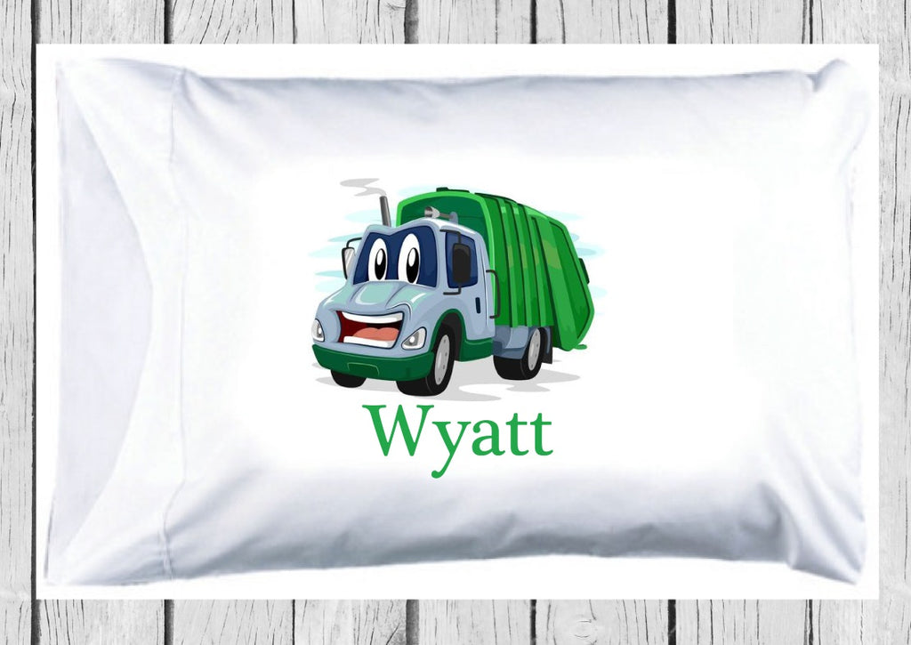 pc125 Garbage Truck Pillowcase