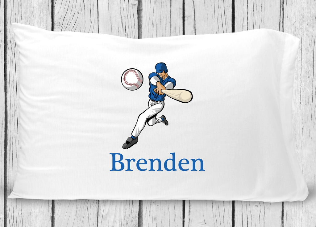pc129 Baseball Player Pillowcase