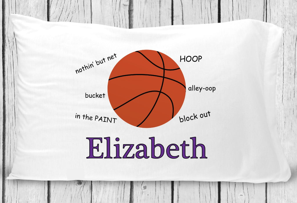 pc132 Girl Basketball Pillowcase
