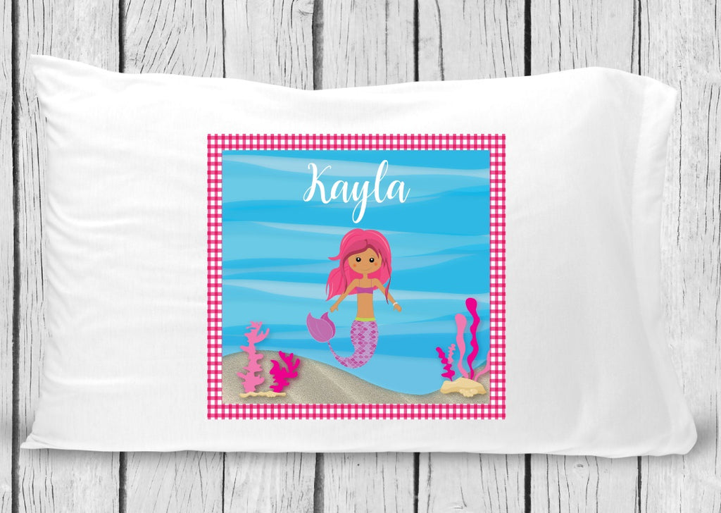 pc17 Mermaid Pillowcase