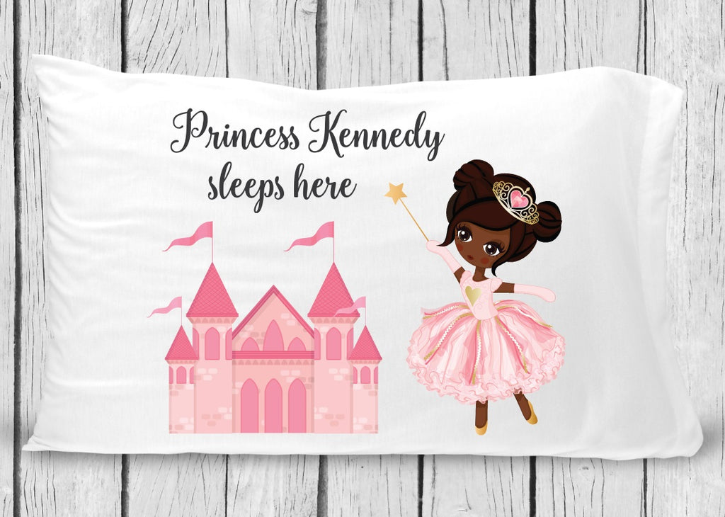 pc18-b Black Princess Pillowcase