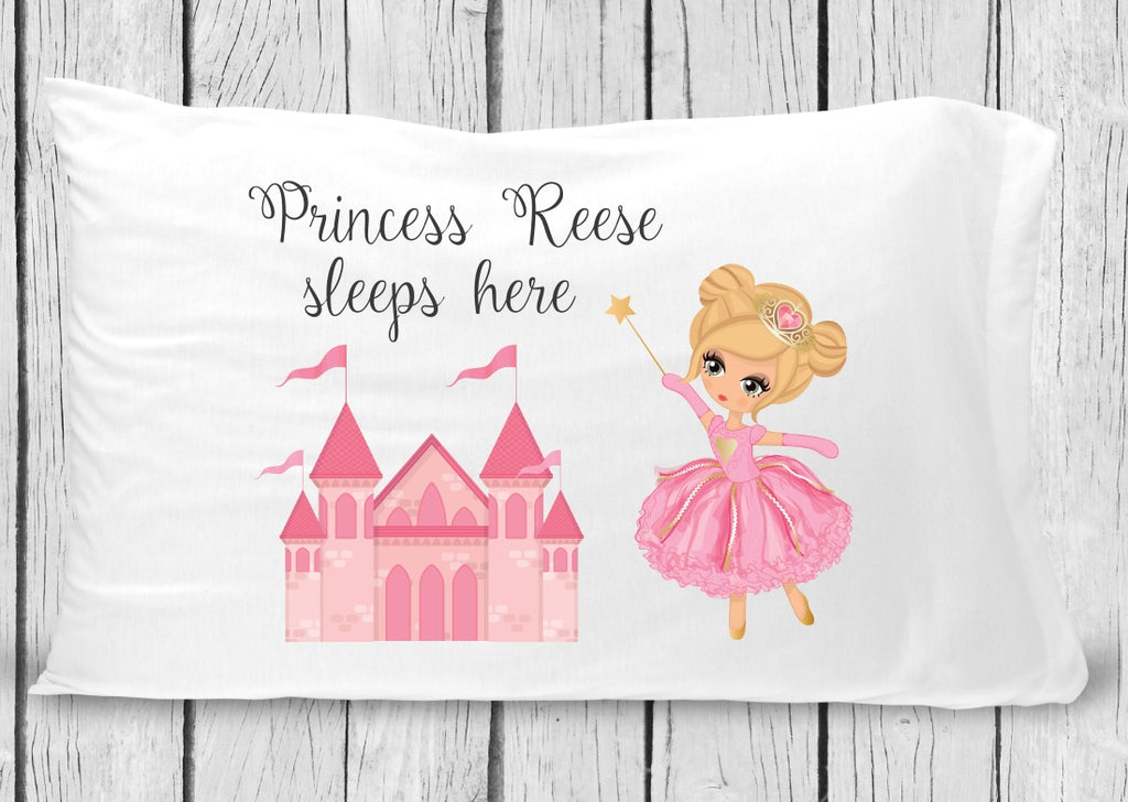 PC18 - Blonde Princess Pillowcase