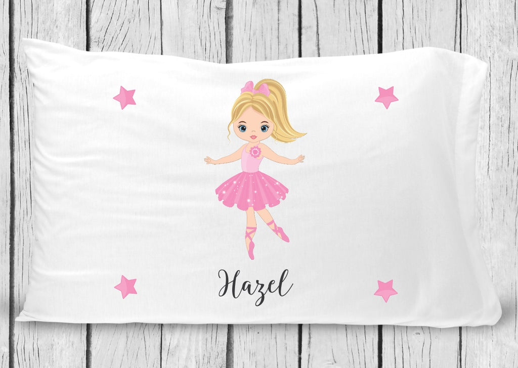 pc24-2 Ballerina blonde hair Pillowcase