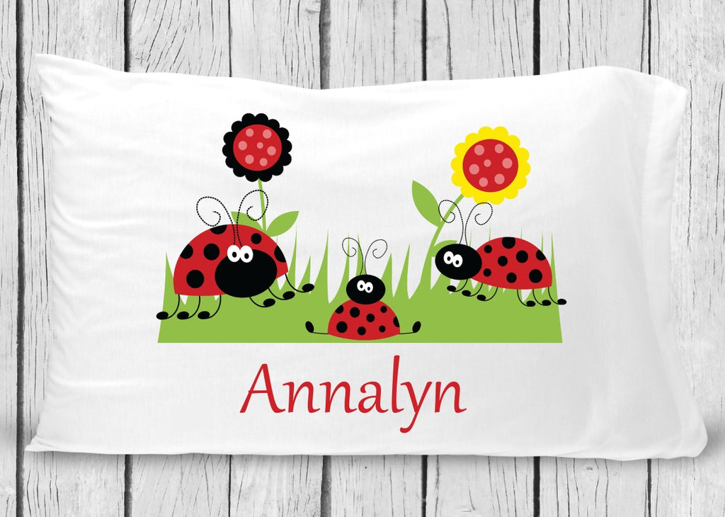 pc60 ladybug Pillowcase