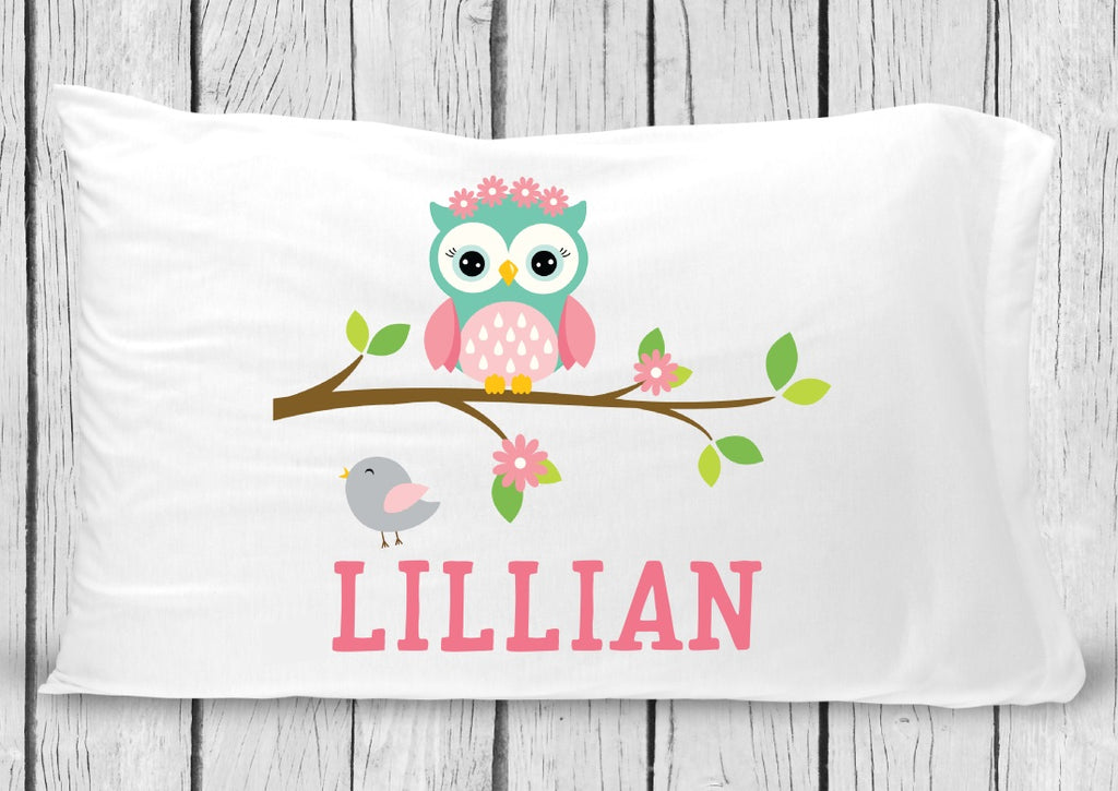 pc61 Owl Pillowcase