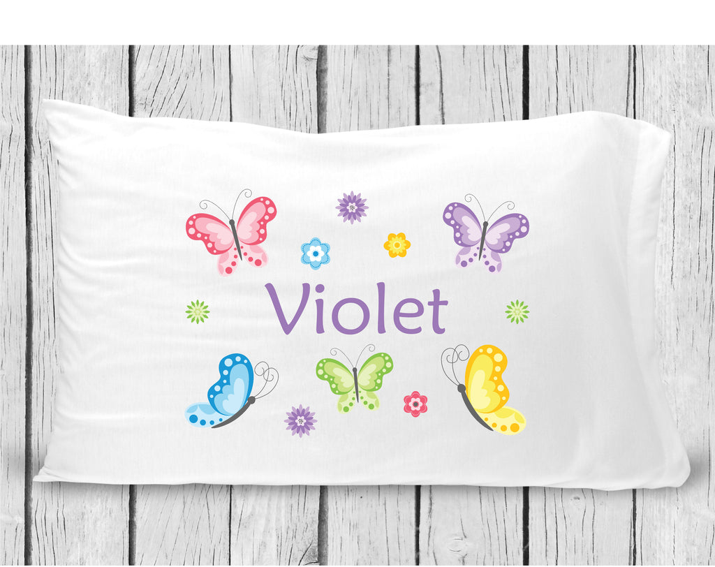 pc77 Butterfly Pillowcase