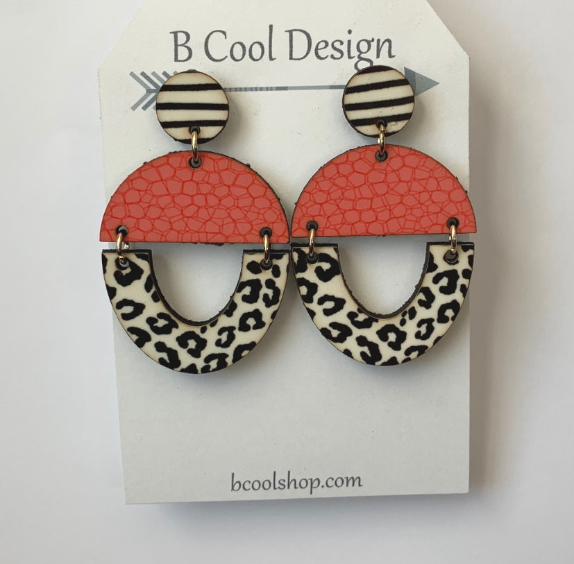 sw19 Penny Earring-Coral