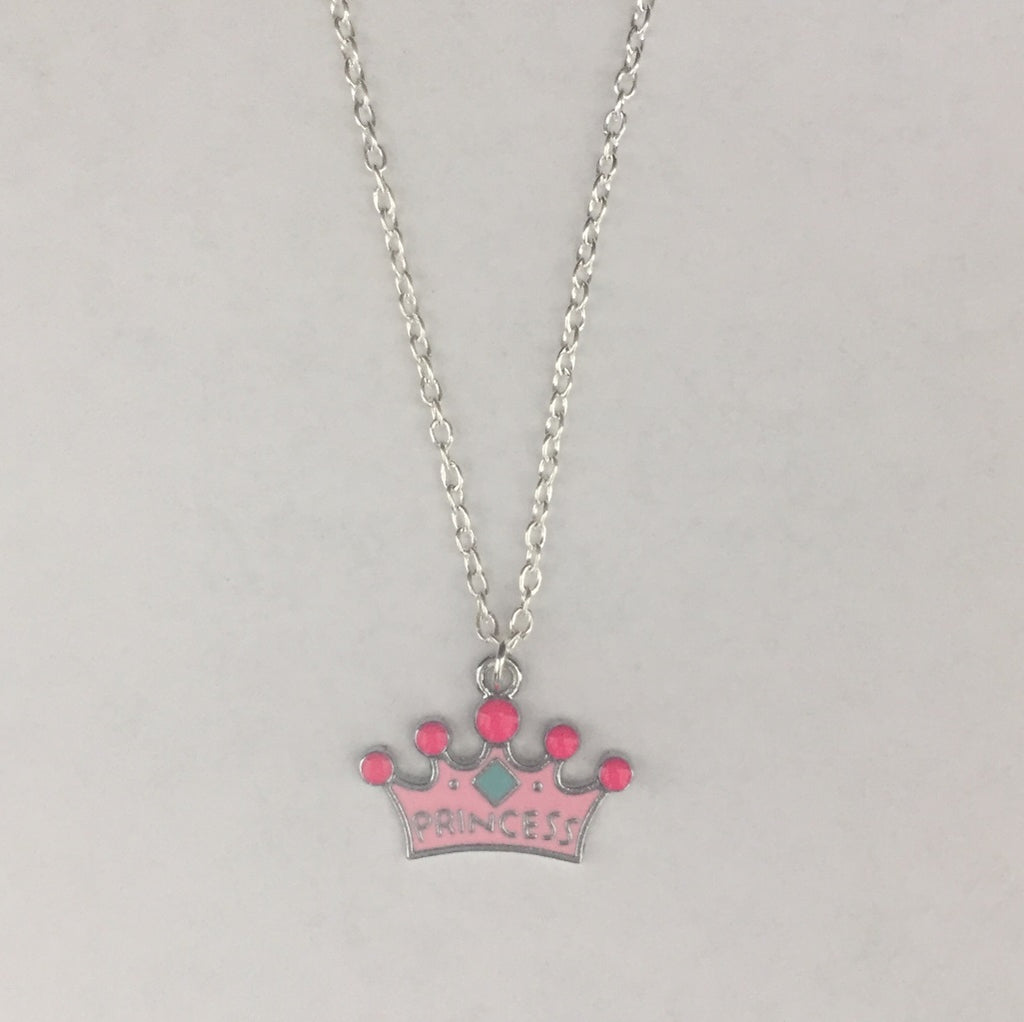 gcn01 Princess Charm Necklace