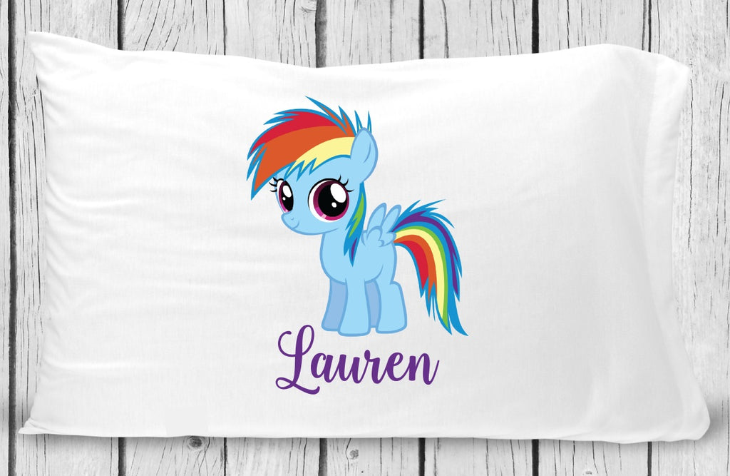 pc150 Rainbow Pony Pillowcase