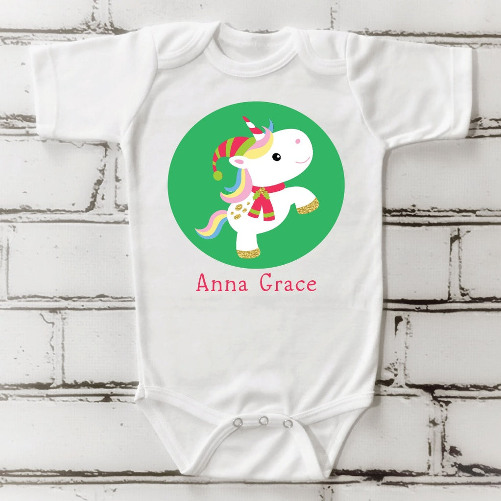 os14 Christmas Unicorn Onsie