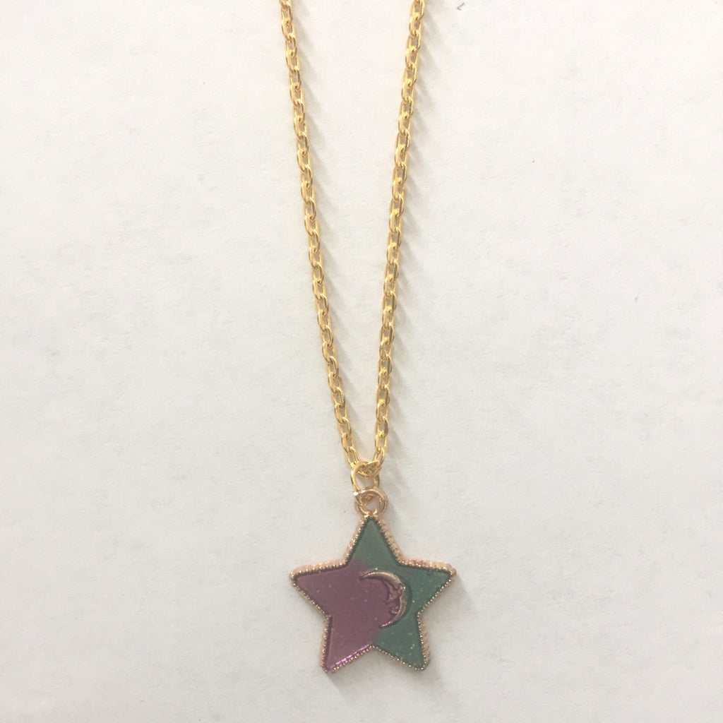 gcn04 Star Charm Necklace