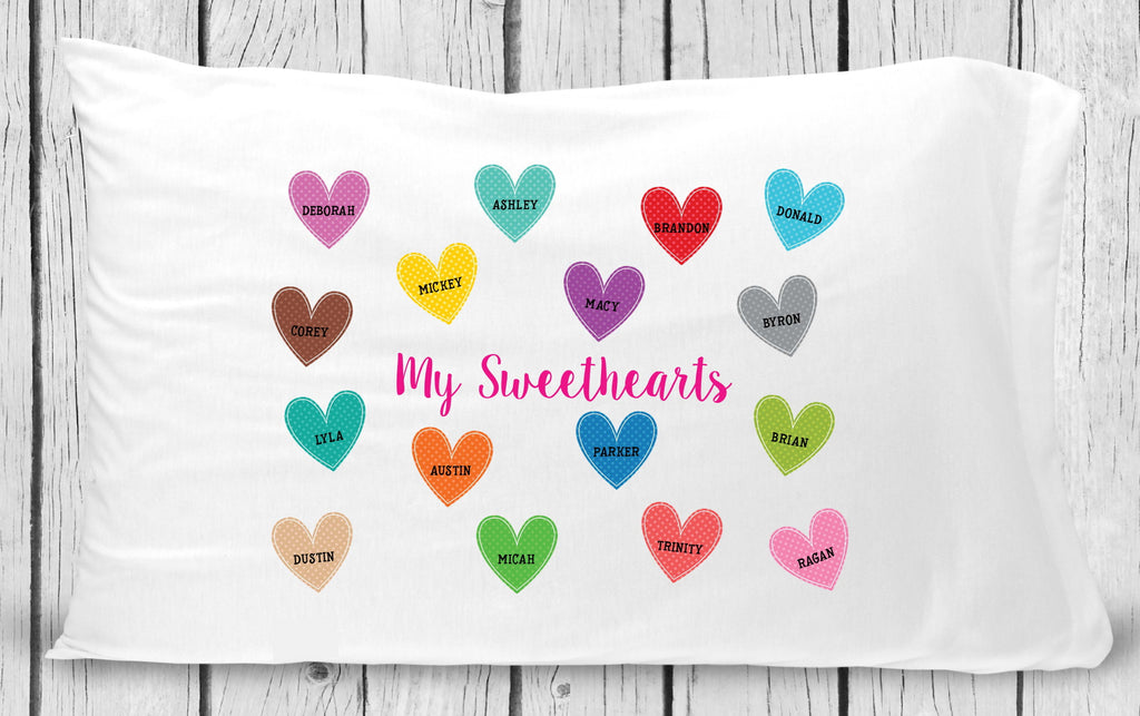 pc207 Sweetheart Pillowcase