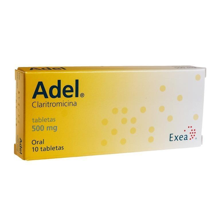 Adel 500mg Tab C10 Sanborns Farmacia
