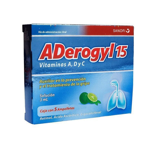 Aderogyl 15 Amp Oral 3Ml C5