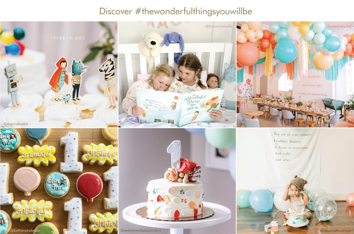 Discover #thewonderfulthingsyouwillbe