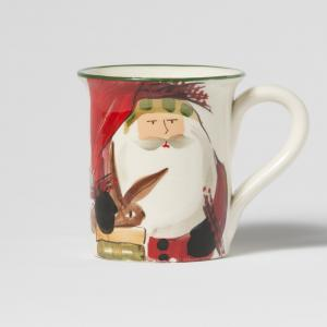 Vietri - Old St Nick - Limited Edition Santa Mug