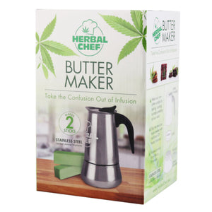 Herbal Chef Stove Top Butter Maker Bundle - 2 Stick - Dabix Labs