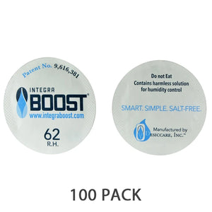 Integra Boost Humidity Cap Pack 37mm 62%