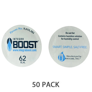 Integra Boost Humidity Cap Pack 51mm 62%