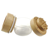 RYOT Wood GR8TR with Clear Jar Body - Dabix Labs