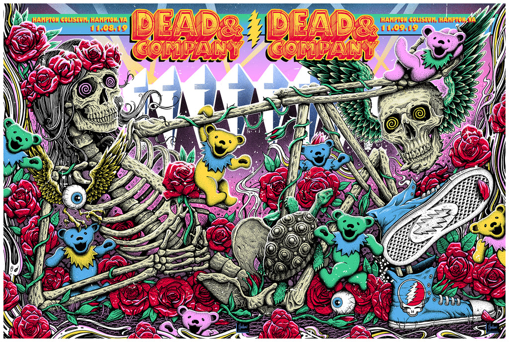 Dead & Co 'UNCUT' Hampton Coliseum diptych!